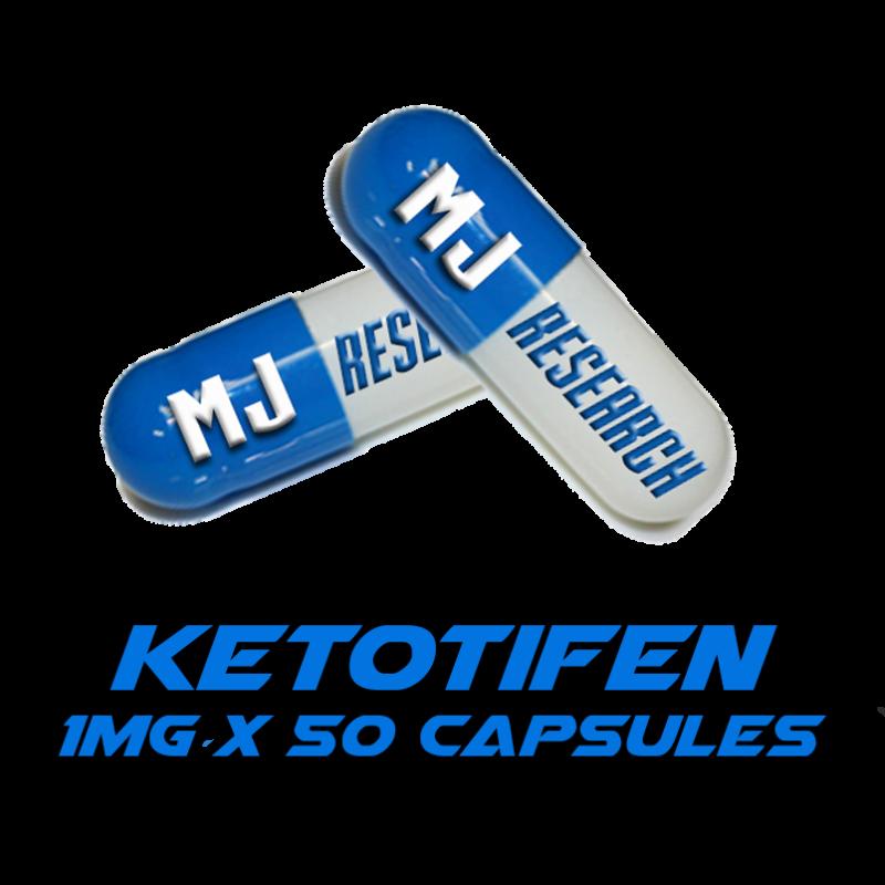 Ketotifen 1mg capsules