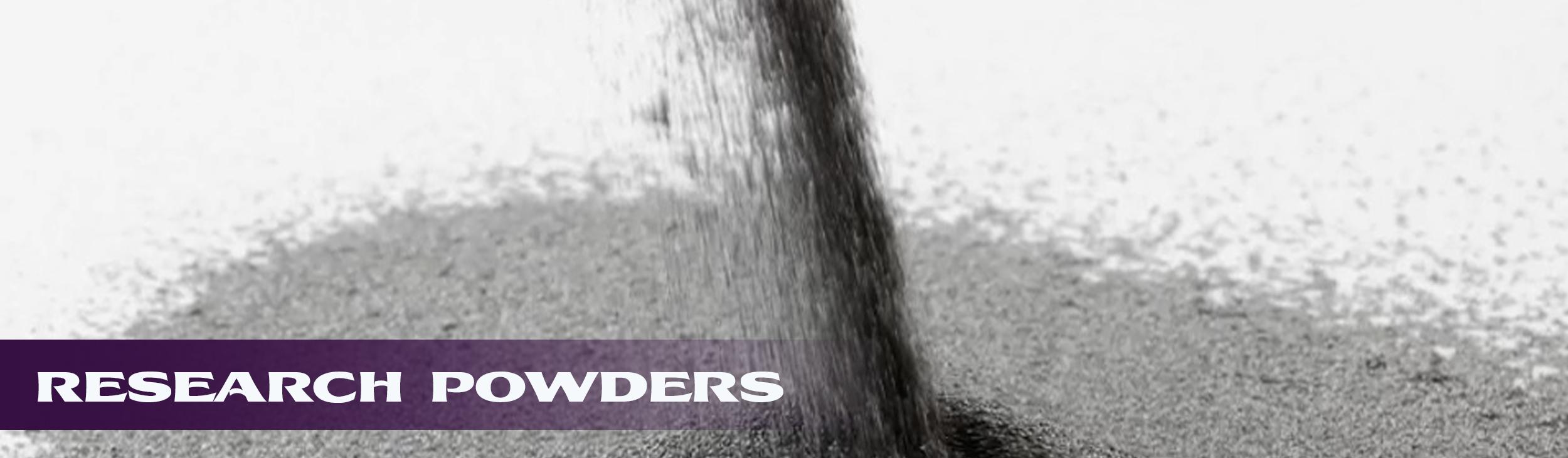 research powders